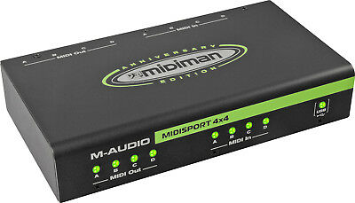 M-AUDIO Midisport 4X4 USB (ANNIVERSARY EDITION) - INTERFACCIA