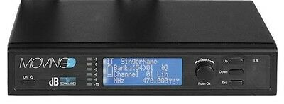 DB TECHNOLOGIES Moving D RX Ricevitore Digitale Wireless UHF