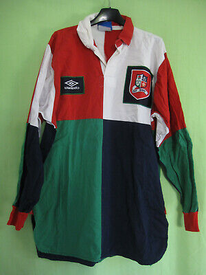 Maillot rugby British and Irish Lions Britaniques Umbro Union 1986 Jersey - L