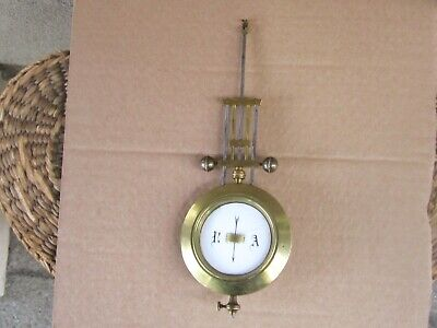 Аntique French Portico Clock r/a Pendulum only-19c.
