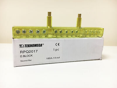 Teknomega Omega Neutral Terminal Block for RPQ1017