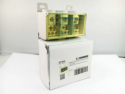 Teknomega Omega 3 Pole Distribution Block 125 Amp RPT125-6S 6 Outputs