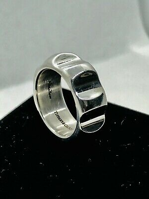 8a2c0fd21 TIFFANY & CO Paloma Picasso Sterling Silver/925 True Love Ring Size 6