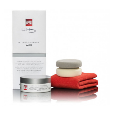 Autoglym High Definition HD Wax Kit 150g Polish Valet Kit
