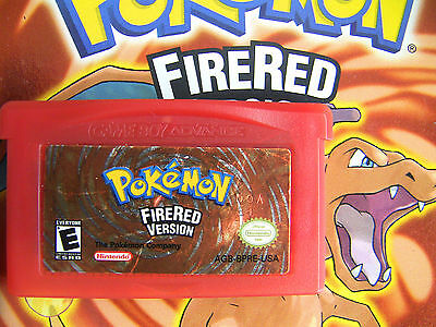 Unlocked AUTHENTIC FireRed All 386 Legit Legal Pokemon Nintendo DS GBA POKEDIT