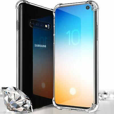 CLEAR Case For Samsung Galaxy S10 Plus S10e S9 S8 5G Silicone Gel Shockproof