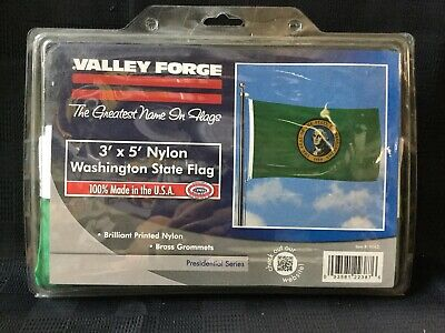 Valley Forge Presidential Series Washington State Flag 3x5ft Nylon WA3 (N5)