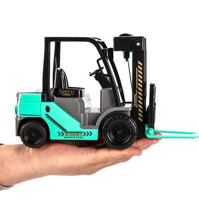 New 1:12 Scale Forklift Truck Model Car Construction Vehicle Collection Gift Toy