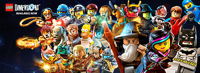 LEGO Dimensions - Game Disc Tag Only - PowerPuff, Teen Titans, Goonies