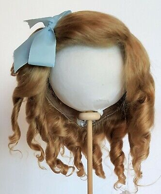 Imported French Mohair Wig - Emilie - French Or German Size 12 Dark Blond