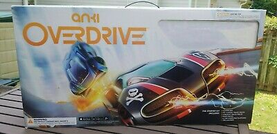 Anki Overdrive Starter Set Mobile Controlled 2 Cars Complete Tested Excellent