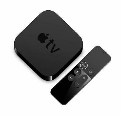 Apple TV 4K HDR 64GB with Siri Voice Search - 5th Generation - Black MP7P2LL/A