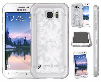 Samsung Galaxy S6 Active 32gb White Camo AT&T Unlocked Working Phone Discounted!