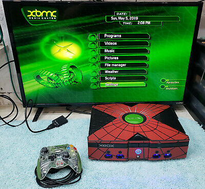 ORIGINAL XBOX MODDED Upgraded 2TB Hard Drive HDMI Cable