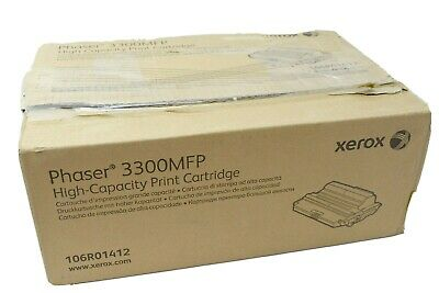 Genuine Xerox 106R01412 Black High Yield Toner Cartridge