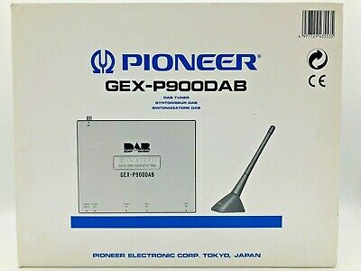 PIONEER DIGITAL AUDIO BROADCASTING tuner GEX-P900DAB New