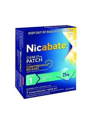 4 X 21mg Nicabate Boxes (28 Patches)