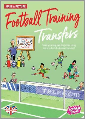 Scribble Down Football TrainingPicture Transfer Pack CRAFT COLORING TOY EDUCATIO