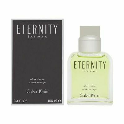Eternity By Calvin Klein Men 3.4 oz 100 ml After Shave* Dab-On Splash Nib Sealed