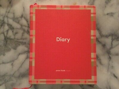 NEW Diary by Anne Frank House - Anne Frank blank diary w/ history & pictures