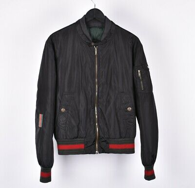 Gucci Men Bomber Jacket Size 48 Fits S or M