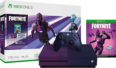 Xbox One S Fortnite Special Edition LIMITED EDITION Bundle 1TB 23C-00080 CONSOLE
