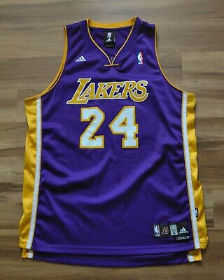966e034c88a Kobe Bryant #24 Los Angeles Lakers Adidas Swingman Jersey Purple Mens Large