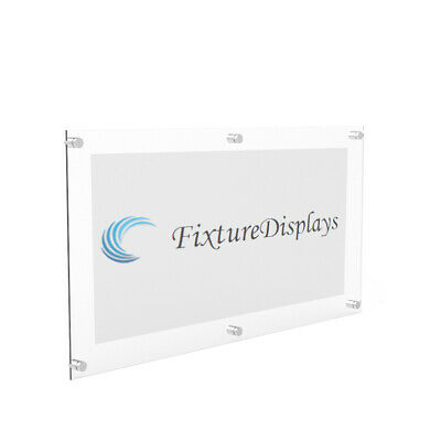 24X48 Acrylic Sign Blank Corporate Sign Blank Office Sign Holder Building sign