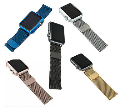 watch 67e80 da68d BLACKWEB REPLACEMENT APPLE Watch 38 Mm Band With Color Matching Case ...