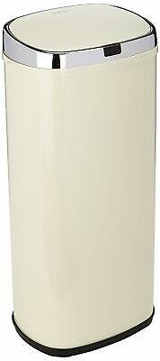 Morphy Richards Square Kitchen Bin with Infrared Sensor Technology Cream - 50L