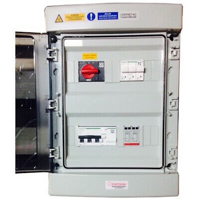 Coffret Kamase AC Triphase 9kVA 300mA - Composants Schneider Electric