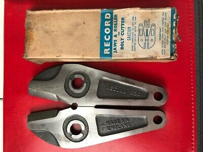 Record 930 Replacement Bolt Cropper Jaws - Made in Sheffield