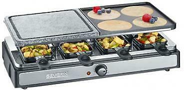 SEVERIN Raclette-Grill RG 2344, mit Naturgrillstein