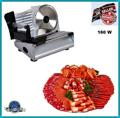 Commercial Meat Cutter Electric Home Machine Food Slicer Cheese Bread Ham Salami