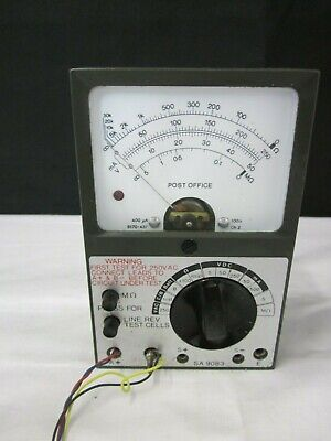 POST OFFICE AVO multi-meter/tester SA9083 With Case - Vintage