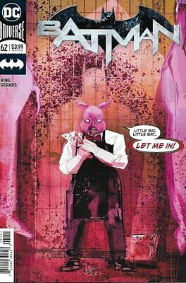 Batman (Vol 3) #  62 Near Mint (NM) (CvrA) DC Comics MODERN AGE