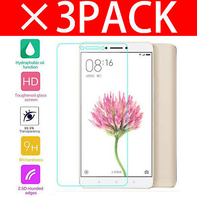 For Xiaomi Mi Max 2 Tempered Glass Screen Protector - CRYSTAL CLEAR
