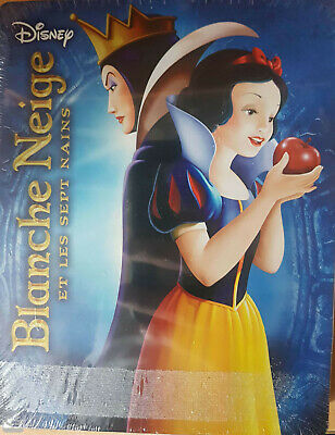 Blanche Neige Et Les Sept Nains  Steelbook Blu Ray Disney  Neuf Sous Cellophane