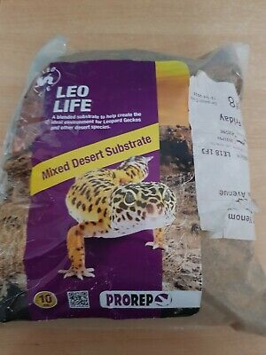 ProRep Reptile Leo Life Mixed Desert Substrate 10kg Leopard Gecko