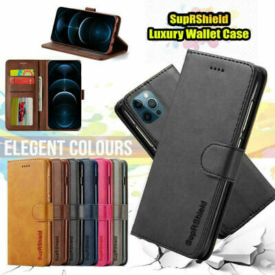 Apple iPhone 7 8 Plus X XS Max XR 6 6S Wallet Case Luxury Leather Flip Cover