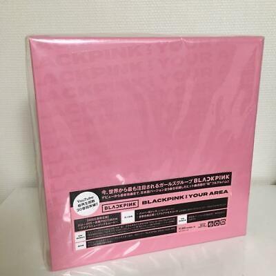 【NEW】BLACKPINK IN YOUR AREA Limited Edition 2 CD+DVD+Photobook SPECIAL BOX