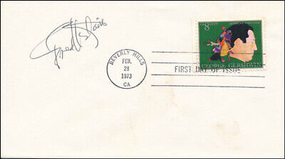 Fred Astaire - First Day Cover Signed