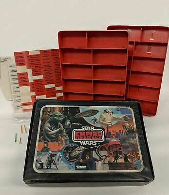 1982 Kenner Star Wars EMPIRE STRIKES BACK Figure Carrying Case w/ 2 Trays LABY01