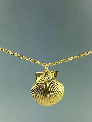 SCALLOPED GOLD NECKLACE 18k Reduce Price by $699 FOR SPECIAL