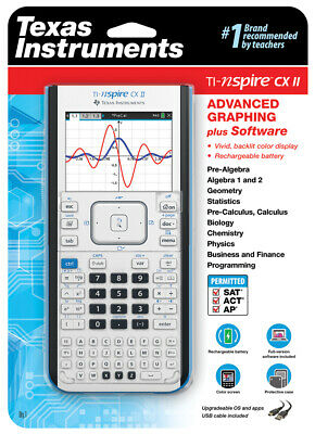 TEXAS INSTRUMENTS TI-NSPIRE CX II - Refurbished Graphing Calculator