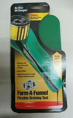 Pig 18509 Form-A-Funnel Flexible Draining Tool Made In Usa! Upc: 036226185092