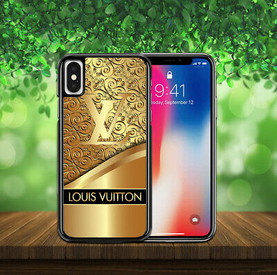 0962d7ca98b NEW Gold Logo Louis4Vuitton7LV Cover iPhone XS MAX XR X 6/7/8 Samsung