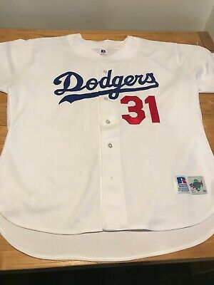 quality design ab68a 65963 VINTAGE MIRAGE LOS Angeles Dodgers MIKE PIAZZA Stitched ...