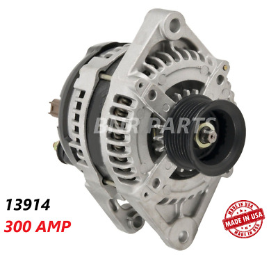 300 AMP 13914 Alternator Dodge Durango Ram High Output Hairpin Performance HD