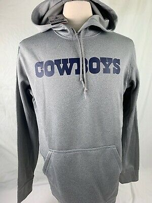 9095d87f615 NWT NIKE Dallas Cowboys Thermafit Mens Med. Hoodie Sweatshirt NEW NFL